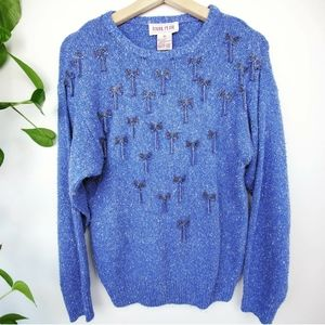 Raoul Silk & Angora Bow Bead Sweater